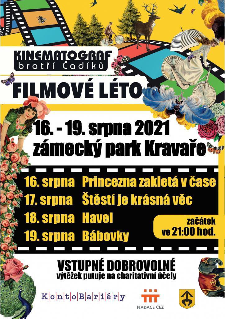 Plakát Letní kino 2021