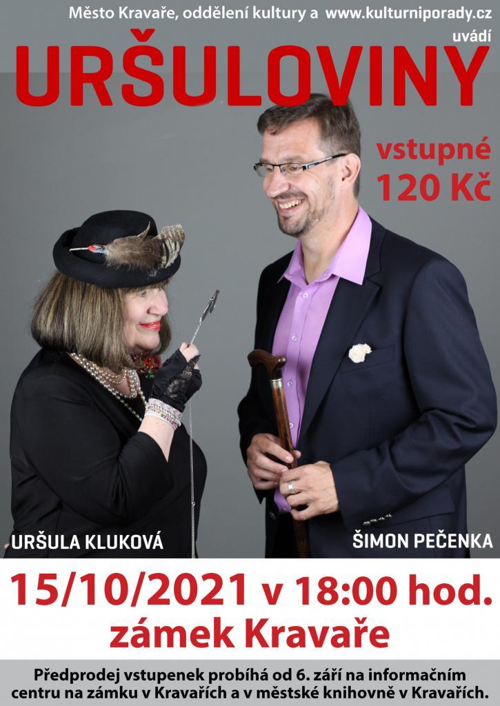 Plakát Uršula Kluková